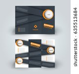 brochure template. business... | Shutterstock .eps vector #635513684