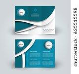 brochure template. business... | Shutterstock .eps vector #635515598