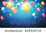 abstract background with... | Shutterstock .eps vector #635524724