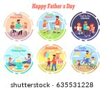 family pizza time  sport... | Shutterstock .eps vector #635531228