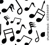 music note pattern | Shutterstock . vector #635544449
