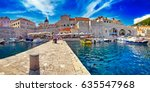 the amazing panorama dubrovnik... | Shutterstock . vector #635547968