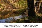 specular reflection of coastal... | Shutterstock . vector #635552909