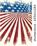 american frame background. a... | Shutterstock .eps vector #635611283
