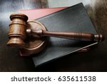 legal  law and justice concept ... | Shutterstock . vector #635611538