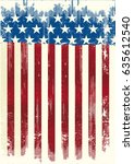american poster background | Shutterstock .eps vector #635612540