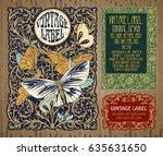 vector vintage items  label art ...   Shutterstock .eps vector #635631650