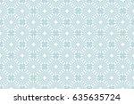 seamless geometry pattern.... | Shutterstock .eps vector #635635724