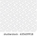 vector seamless pattern. modern ...   Shutterstock .eps vector #635639918