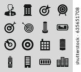 center icons set. set of 16...   Shutterstock .eps vector #635651708