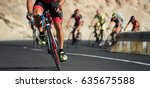 cycling competition cyclist... | Shutterstock . vector #635675588