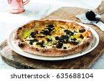 Black Truffle  Zucchini Flower...
