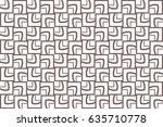 decorative ethnic ornament.... | Shutterstock .eps vector #635710778