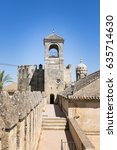 Small photo of tower of the alcazar in Cordoba spain