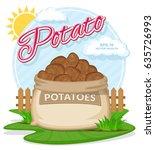 vector illustration of eco... | Shutterstock .eps vector #635726993