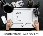 Small photo of Live Give Helping Support Donate Charity