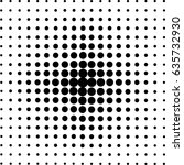 halftone circles  halftone dot...   Shutterstock .eps vector #635732930
