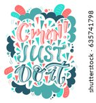 vector hand drawn vintage... | Shutterstock .eps vector #635741798