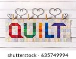 The Word Quilt Sewn From...