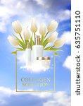 collagen regenerate cream...   Shutterstock .eps vector #635751110