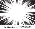 background of radial lines for... | Shutterstock .eps vector #635761073