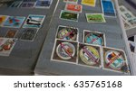 stamp collecting. philatelic.... | Shutterstock . vector #635765168