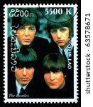 laos   circa 2000  a postage... | Shutterstock . vector #63578671
