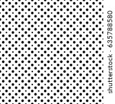 black and white decorative... | Shutterstock .eps vector #635788580