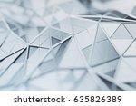 abstract 3d rendering of...   Shutterstock . vector #635826389