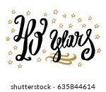 40 years card  banner.... | Shutterstock .eps vector #635844614