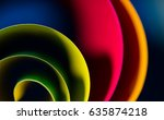 Abstract Art Of Colorful  Blur...