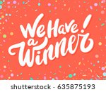 "banner with text ""we have a... 