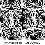 abstract design with hand drawn ... | Shutterstock .eps vector #635900018
