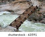 bridge at hetch hetchy in... | Shutterstock . vector #63591