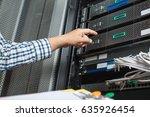 asian working man as server...   Shutterstock . vector #635926454