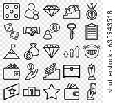 success icons set. set of 25... | Shutterstock .eps vector #635943518