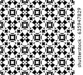 raster monochrome seamless... | Shutterstock . vector #635947829