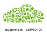 ecology icons | Shutterstock .eps vector #635950400