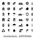 ecology icons | Shutterstock .eps vector #635950406