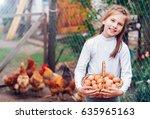 Beautiful Little Girl Holding A ...