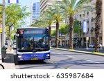 tel aviv  israel   april  2017  ... | Shutterstock . vector #635987684