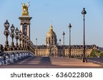 Small photo of Alexander III bridge in Paris at sunset