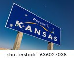 Small photo of Welcome to the State of Kansas - Roadsign