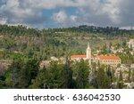 ein karem church | Shutterstock . vector #636042530