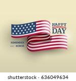 the american flag symbol ...   Shutterstock .eps vector #636049634