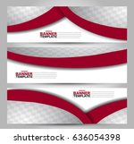 banner template. abstract... | Shutterstock .eps vector #636054398