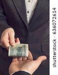 corrupted business woman...   Shutterstock . vector #636072614