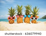 family of funny attractive... | Shutterstock . vector #636079940