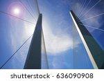 hi guys go into the sky bridge... | Shutterstock . vector #636090908