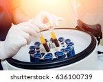 platelet rich plasma... | Shutterstock . vector #636100739
